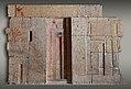 West wall of the chapel of Kaemsenu with niches for Iretnub, Kaemsenu and Werdjedptah MET 26.9.1 EGDP015435.jpg