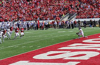2014 Wisconsin Badgers football team - Quickest football score
