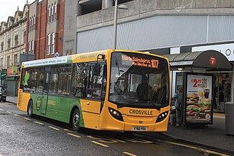 Crosville Motor Services (Weston-super-Mare) - Image: Weston super Mare Regent Street Crosville YY66PDU