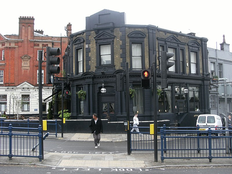 File:Westow House pub, Crystal Palace (side view).jpg