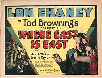 Where East Is East - Lobby card