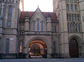 Gatehouse - The entrance to the University of Manchester, built in 1902