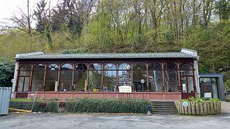Schlangenbad - Historic Café Hall in Schlangenbad (near Wiesbaden)