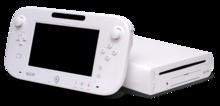 Una consola Wii U blanca y un mando.