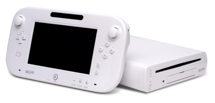 The Wii U, the successor to the Wii Wii U Console and Gamepad.png