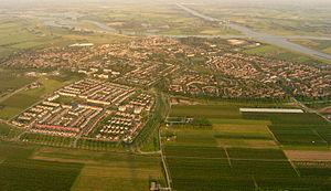 Wijk bij Duurstede - Aerial view of Wijk bij Duurstede