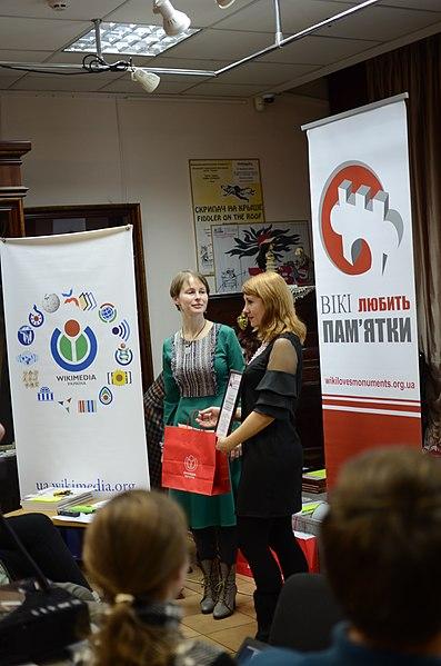 Жанна Олексієнко, переможиця у номінації «За найбільшу кількість сфотографованих пам'яток АР Крим»