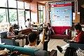 Wikimania2007openspce.JPG