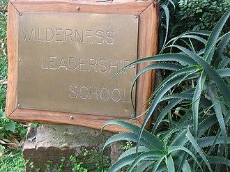 Ian Player - Wilderness Leadership School plaque
