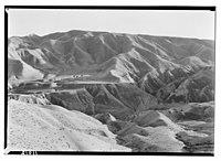 Wilderness of Judea from Neby Mousa (i.e., Nebi Musa), close contours of hills LOC matpc.14475.jpg