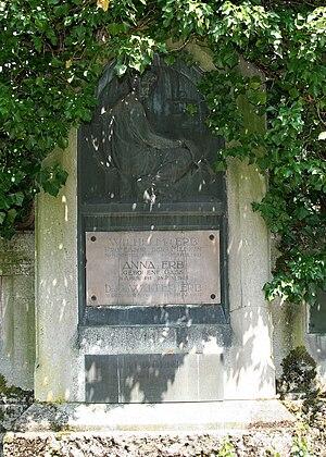 Wilhelm Heinrich Erb - Erb's grave in Heidelberg