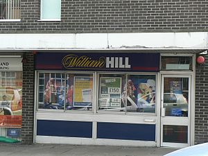 English: William Hill, Bookmakers, 9 North Lan...