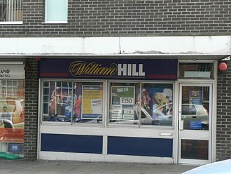 William Hill (bookmaker) - A William Hill turf accountants in Headingley, Leeds.