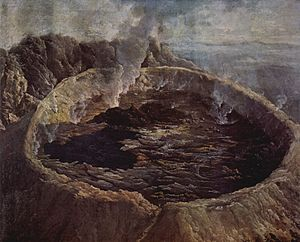William Hodges (attrib.) - The Inner Crater of Mauna Loa, Hawaii.jpg