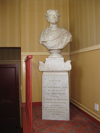 Handsworth, South Yorkshire - 1845 bust in the Cutlers' Hall
