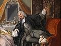 William hogarth, marriage a-la-mode, 1743 ca., 04 la toeletta, 5.jpg