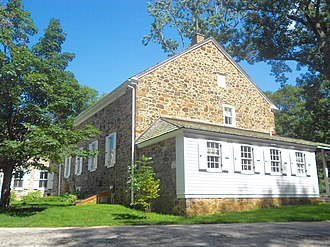 Willistown Township, Chester County, Pennsylvania - Image: Willistown Friends Meeting House Chesco PA