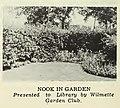Wilmette Library reading garden nook in the 1950s.jpg