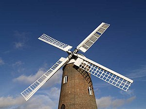 Wilton Windmill - The sails of Wilton Windmill