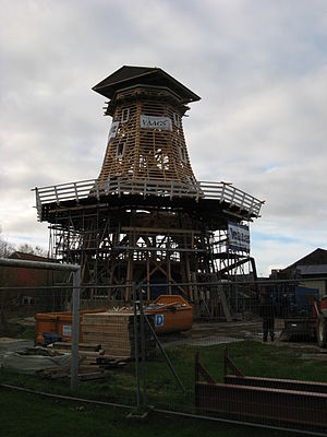 Windlust, Burum - Windlust being rebuilt, 15 November 2013