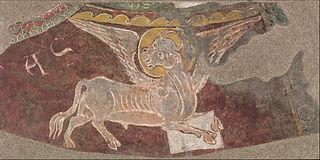 Winged Ox of Saint Luke from Sant Esteve d'Andorra