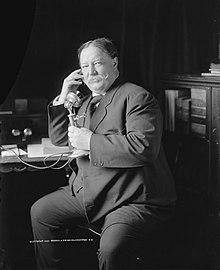 Wm H Taft smiling 1908