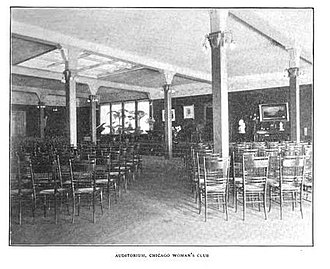 Chicago Woman's Club - The Auditorium of the Woman's Club of Chicago.