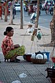 Woman tea vendor Phnom Penh Cambodia.jpg