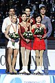 World Championships 2010 – Pairs podium.jpg