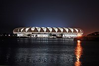 Worldcup 2010 Soccer Stadium at night - panoramio.jpg