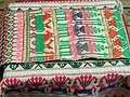 Woven material - Yunnan Nationalities Museum - DSC04067.JPG