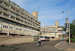 Wyndham Court grade II listed building in Southampton, United kingdom