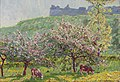 Wynford Dewhurst Apple-Blossom time in Arc-la-Bataille.jpg
