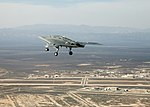 X-47B over Edwards on maiden flight (110204-F-9126Z-649).jpg