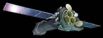 XMM-Newton - Artist's impression of the XMM-Newton spacecraft