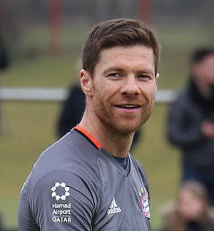Xabi Alonso - Alonso training with Bayern Munich in 2017