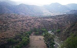 Chuquisaca Department - Xeric River Valley near Presto, Bolivia