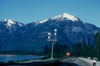 British Columbia Highway 16 - Along the Skeena River, near Kitwanga