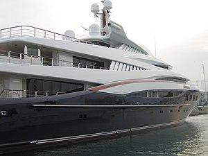 Anastasia (yacht) - Image: Yacht Anastasia 06