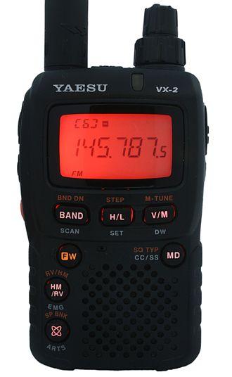 Yaesu VX series - Yaesu VX-2E