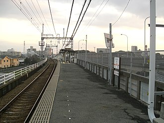 Yakabe Station - Yakabe Station platform