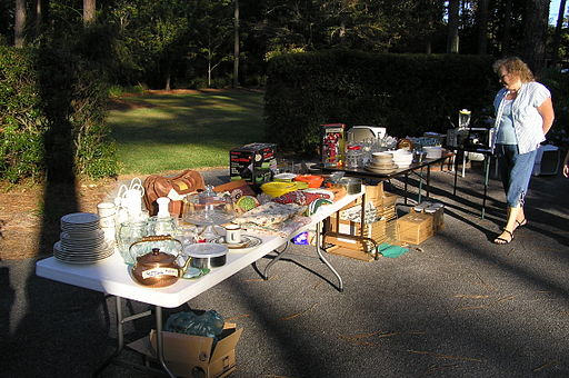 Yard sale October 2006