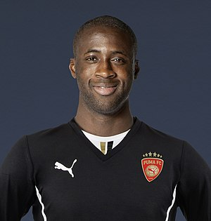 Yaya Touré - Touré with Puma in 2013