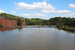 Yellow River in Porterdale, Georgia.JPG