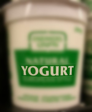 "Product using the English spelling ""yogur..."