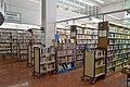 Yokkaichi City Library 1F bookshelves ac (2).jpg
