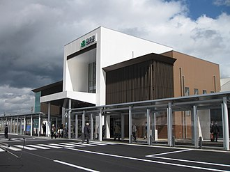 Yokote Station - Yokote Station in 2011
