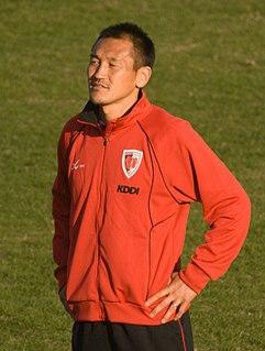 Yutaka Akita Japanese association football player