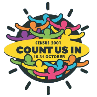 South African National Census of 2001 - Image: ZA Census 2001 Logo
