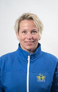 Zandra Reppe Swedish Paralympic archer and curler